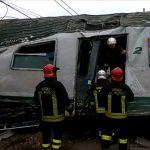 Treno deragliato: RIPRESE E IMMAGINI EFFETTUATE DAI VIGILI DEL FUOCO