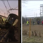 Treno deragliato nel milanese: morti e feriti gravi