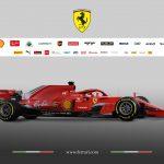 Fotogallery UFFICIALE della Ferrari SF71-H