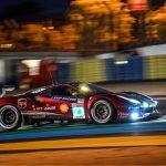 Il resoconto del team -AF Corse- e di Davide Rigon sulla 24h Le Mans