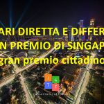 Orari diretta e differita Gran Premio di Singapore