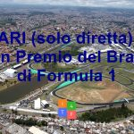 Orari (solo diretta) del Gran Premio del Brasile