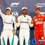 GP Abu Dhabi qualifica | Lewis Hamilton ultimo poleman stagionale, avanti a Bottas e alle due Ferrari