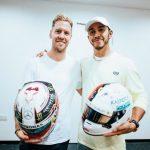 Formula 1 | Lewis Hamilton spiega lo scambio di caschi con Sebastian Vettel