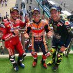 MotoGP | Marc Marquez vince il Gran Premio d'Argentina, mentre Valentino Rossi sale sul podio