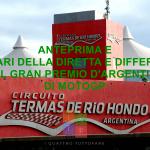 MotoGP | Anteprima e orari della diretta e differita del Gran Premio d'Argentina 2019