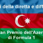 Formula 1 | Gli orari della diretta e della differita del Gran Premio dell'Azerbaijan 2019