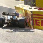 Formula 1 | Bandiera rossa durante le qualifiche del Gran Premio dell'Azerbaijan – Robert Kubica a muro